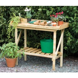 High Quality FSC Wooden Potting Bench