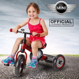 Licensed BMW Mini Pedal Trike - Red