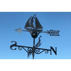 Sailing Boat Weathervane