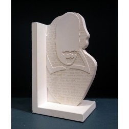 William Shakespeare Engraved Single Bookend