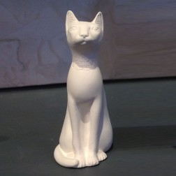 Egyptian Cat Small White