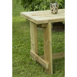 Robust And Sturdy Outdoor Garden FSC Wooden 1.8 m Refectory / Dining Table