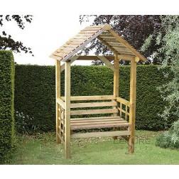 Athena arbour bench