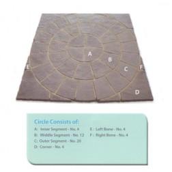 Paving Circle & Sq Off Kit 1.8m²