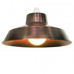 """Metal 12"""" Copper Lampshade"""