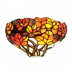 Tiffany Autumn Leaf Wall Light