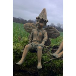 Fairy Boy Garden Ornament