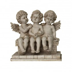 Divine Cherubs Garden Ornament