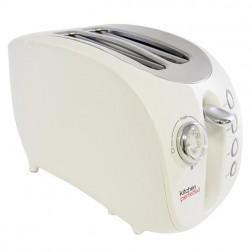 Ivory 2 Slice Wide Slot Toaster