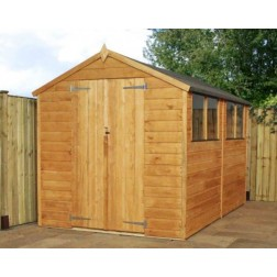 Windermere 10x8 Shiplap Apex Outdoor Shed