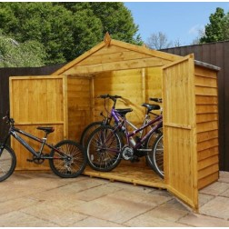 Winster Wooden Outdoor Overlap Bike Store
