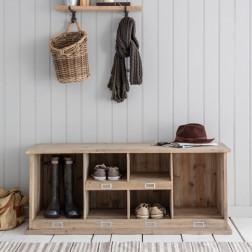 Shoe Locker Natural Spruce