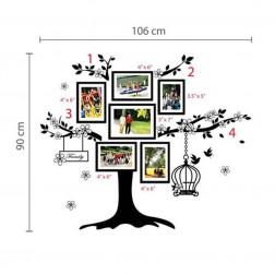 Family Tree Photo Frame Wall Sticker