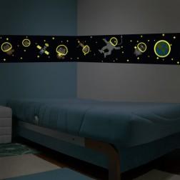 Glow in the Dark Space Wall Sticker