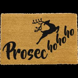 Prosecho-ho-ho Christmas Doormat