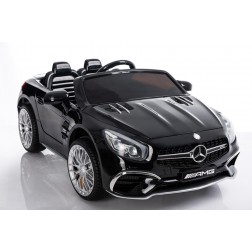 Licensed Mercedes 12v Electric Ride on Car - Black