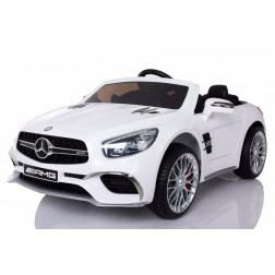 Licensed Mercedes 12v Electric Ride on Car - White
