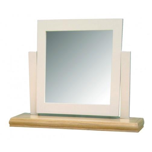 Breton Oak Dressing Table Mirror
