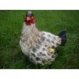 Mother Hen & Chick Garden Ornament