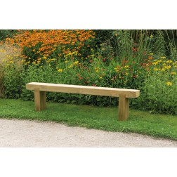 Solid FSC Wooden 1.8m Garden Sleeper Bench