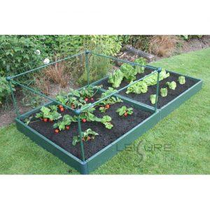 Garden Raised Bed Kit 1 metre x 2 metre, Strong, Weatherproof and Long Lasting-0