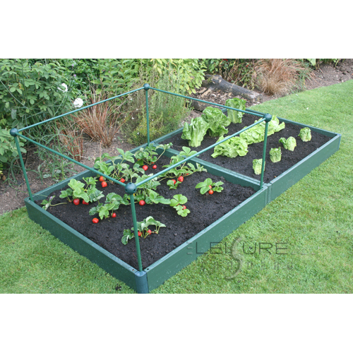 Garden Raised Bed Kit 1 metre x 2 metre, Strong, Weatherproof and Long Lasting-0