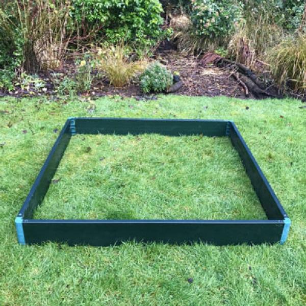 Garden Raised Bed Kit 2m x 1m x 0.15m High