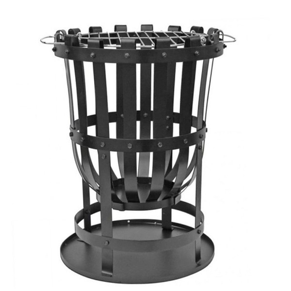 Large Steel Brazier Barbeque Grill