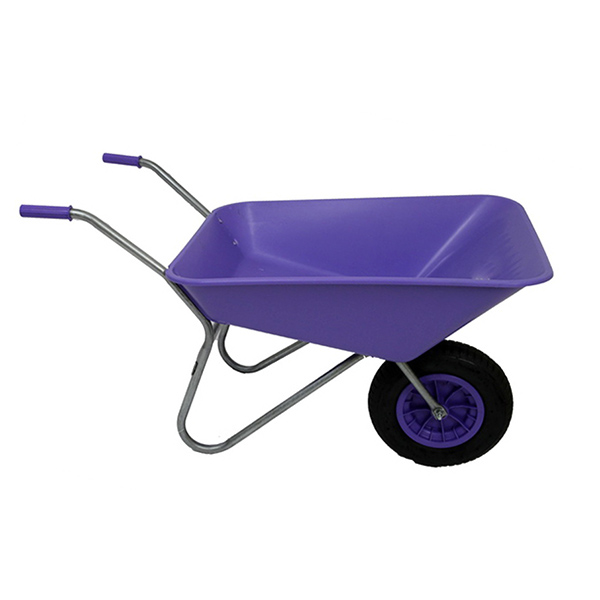 Lilac 85L Plastic Wheelbarrow_1