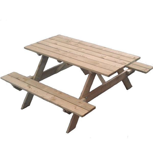Boulogne Timber Garden Picnic Table