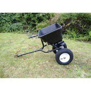 The Handy Towed Garden Lawn Spreader 80lbs -0