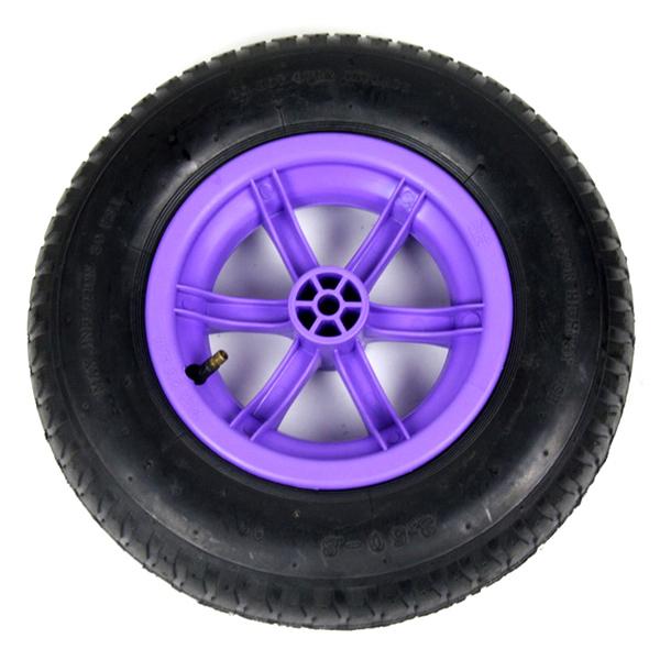Lilac 85L Plastic Wheelbarrow_3