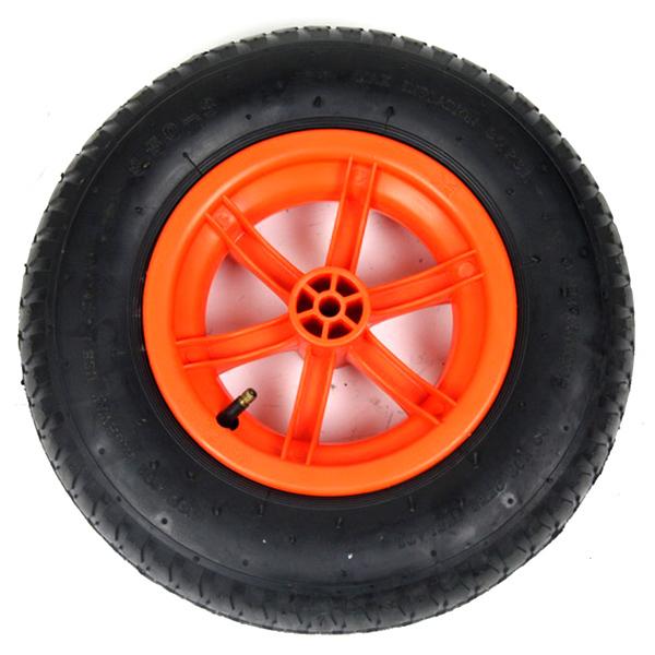 Orange 85L Plastic Wheelbarrow_2