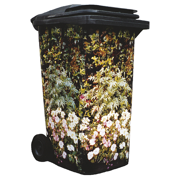 Flowering Planter Wheelie Bin Cover