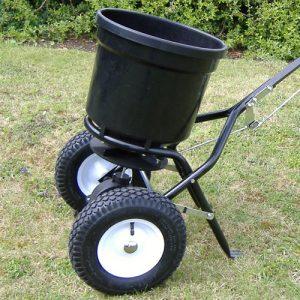 Handy Garden Push Lawn Spreader 50lbs -0
