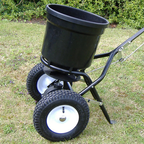 Handy Garden Push Lawn Spreader 50lbs -0