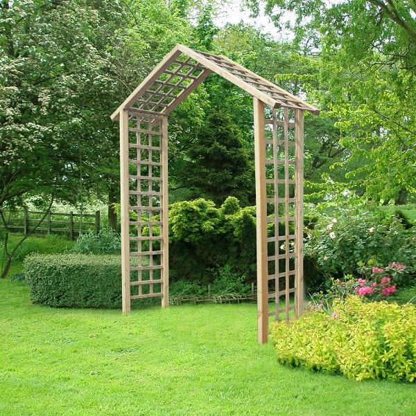 The Atlas Arch FSC Wooden Garden Rose Arch_1