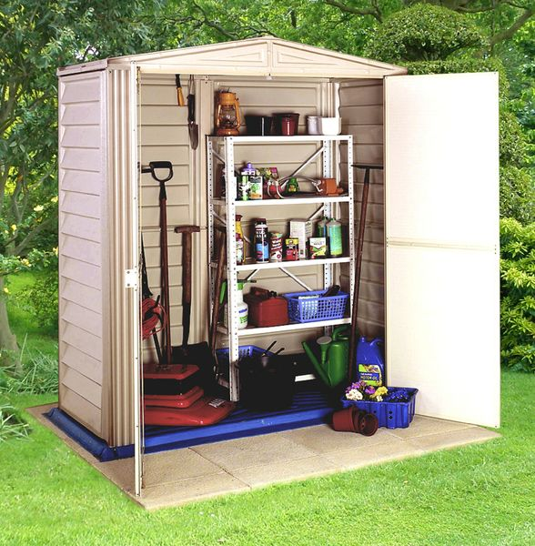 Cooden compact shed