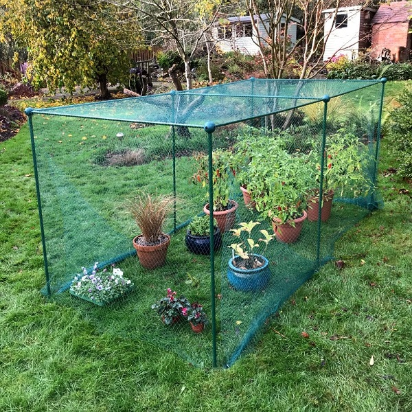 Garden Fruit And Vegetable Cage With Anti Bird Netting 1.25m H