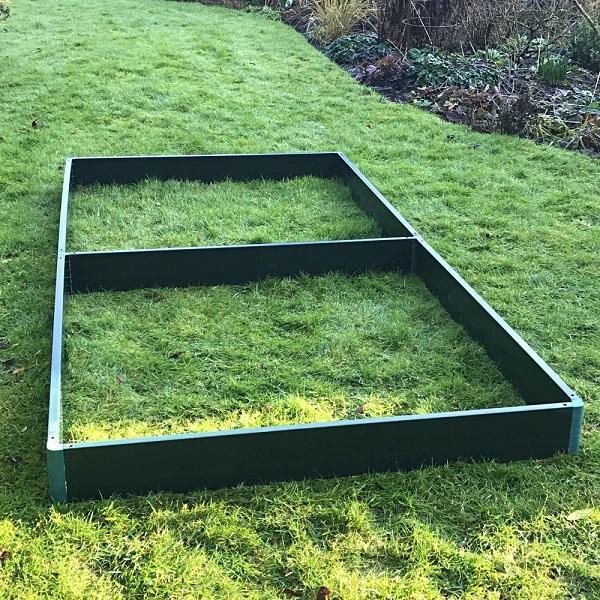 Garden Matrix raised Bed Kit 2.5m x 1.25m x 0.15m High