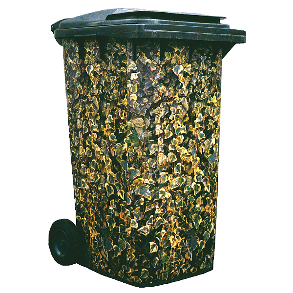 Ivy Variegated Wheelie Bin Cover