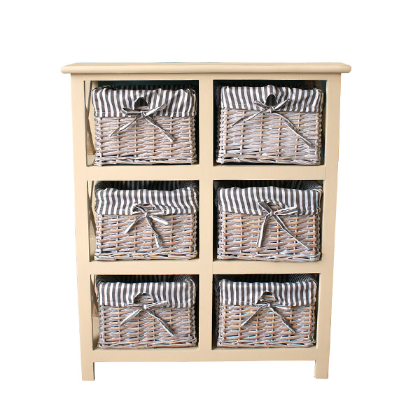 Casamoré Selsey 6 Drawer Storage Unit