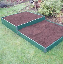 Raised Matrix 1 x 2m Garden Bed Kit-0