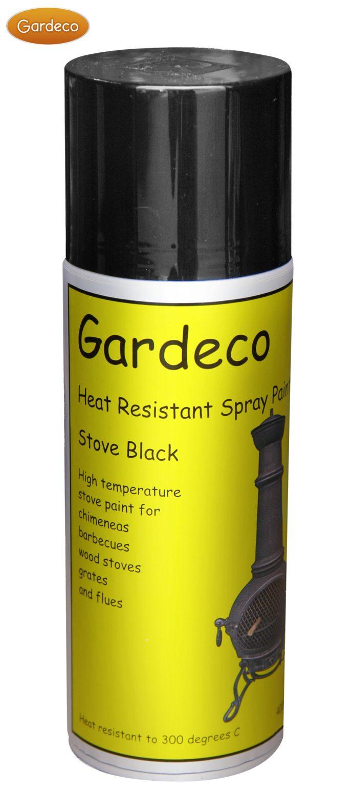Black Heat Resistant Spray Paint -0