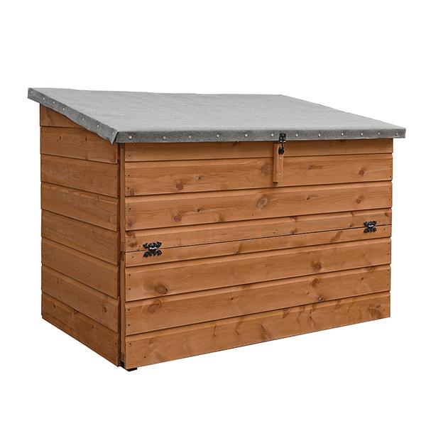 Kirkby Outdoor Wooden Storage Chest