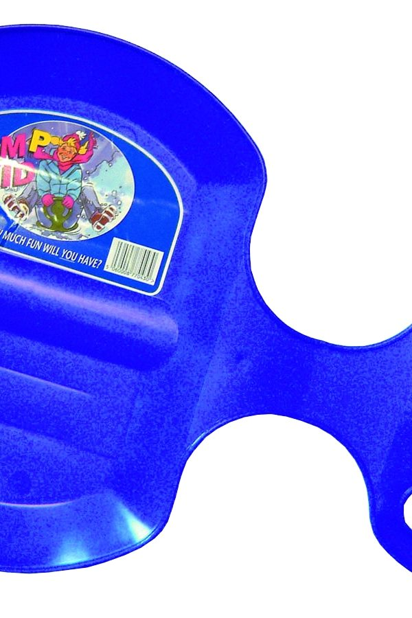 The Winter Flurry Bump Skid Sled In Brilliant Blue-0