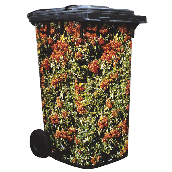 Pyracantha In Fruit Wheelie Bin Cover