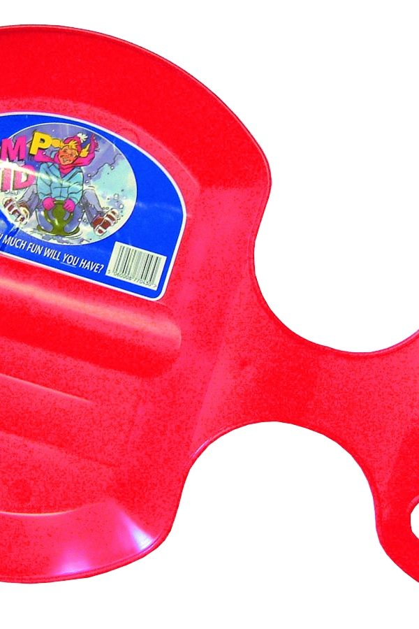 The Winter Flurry Bump Skid Sled In Radiant Red-0
