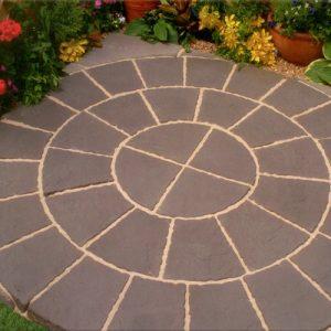 Paving Circle & Sq Off Kit 1.8m² -0
