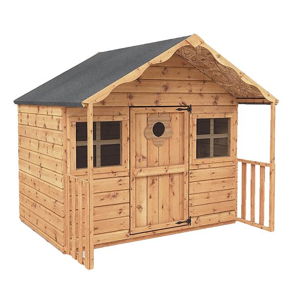 "Poppy 6' x 5'6"" Wooden Playhouse"